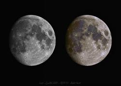 Lune en couleur avec ASI174MM N&B sans filtre !