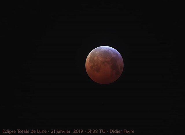 #eclipse totale de Lune visible depuis B