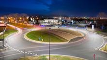 CPE07 - DIALux Éclairage public Sections courantes Giratoires Parkings
