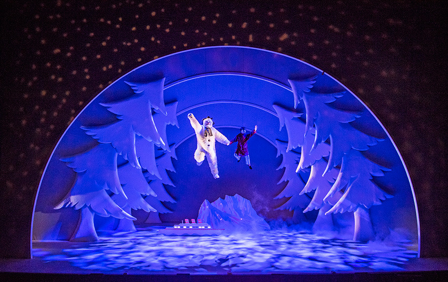 The Snowman is now on show at the Peacock Theatre, produced by Sadler's Wells