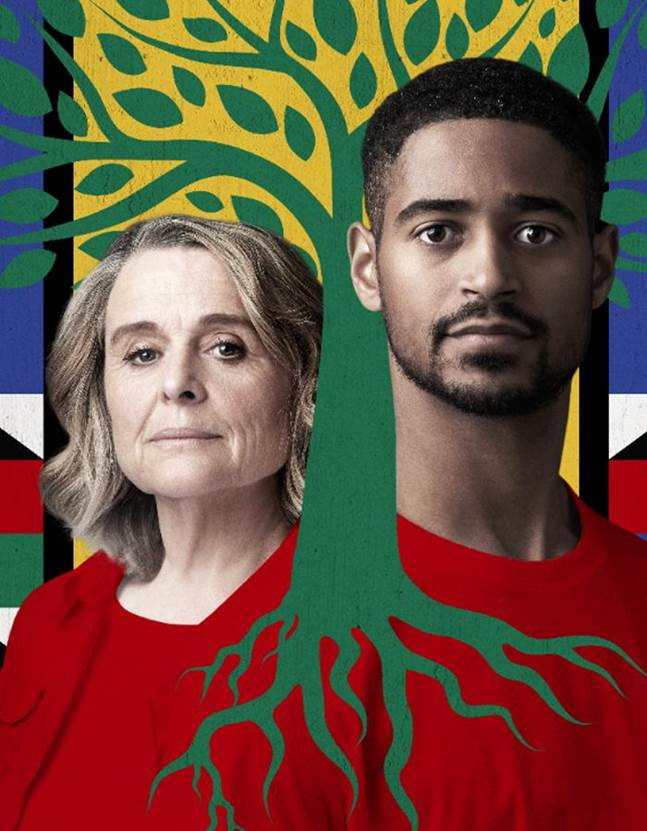 Idris Elba's co-created production Three is now showing at the Young Vic