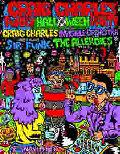 This Halloween Craig Charles will be spinning funk and soul classics at Mirth Marvel and Maud in Walthamstow