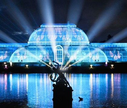 Christmas at Kew is a dazzling annual light show at Kew Gardens now open to the public