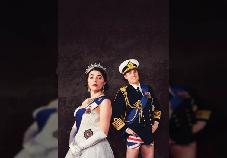 Hilarious comedy The Crown Dual is on show now at Wilton's Music Hall