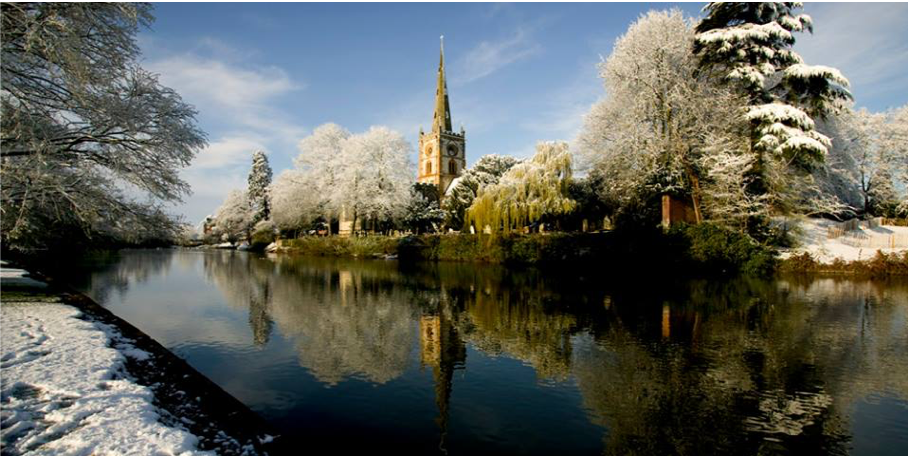 One of England's many beautiful churches which are under threat this winter, as experts warn of the impact of extreme weather