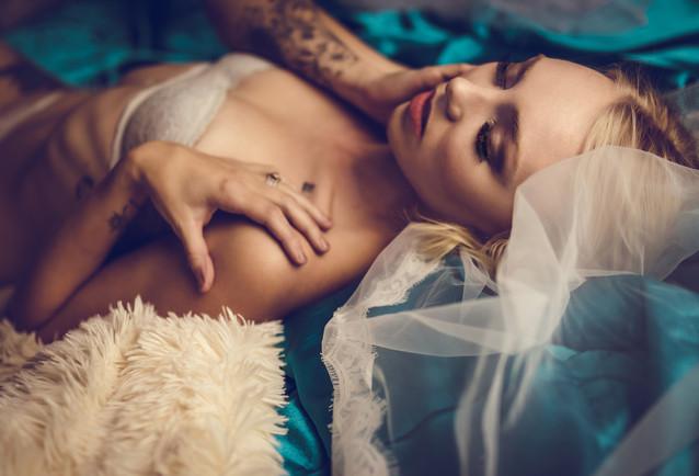 Bridal Boudoir Portrait
