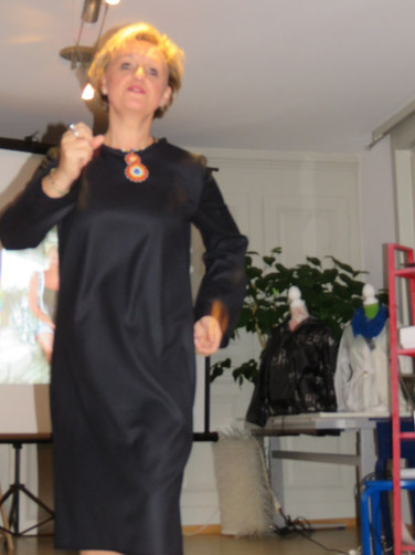 Afrika Kleid Modeevent Münsingen