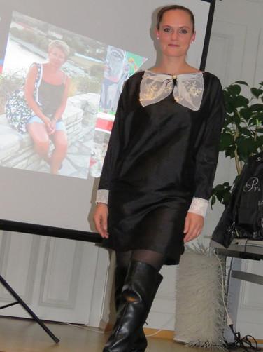 Kleid 20er Modeevent Münsingen