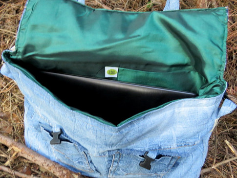 PC Tasche Upcycling