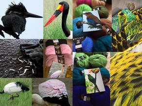 Aus der Vogelperspektive gestrickt- eine Reise mit kreativen Folgen