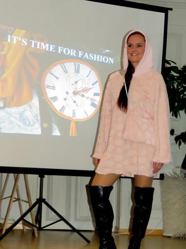 Upcyvling Kleid Modeevent Münsingen