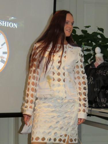Upcycling Kleid Messe Litomysl Tereza