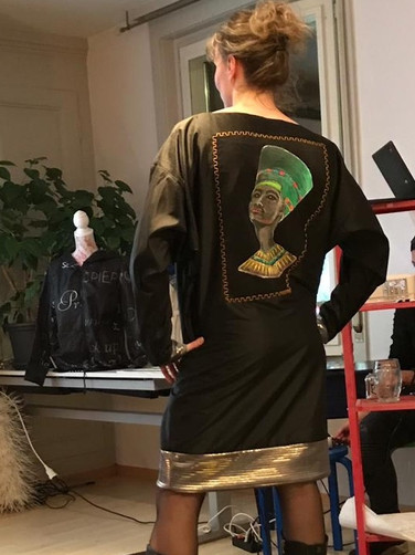 Kleid Pharaoo Modeevent Münsingen