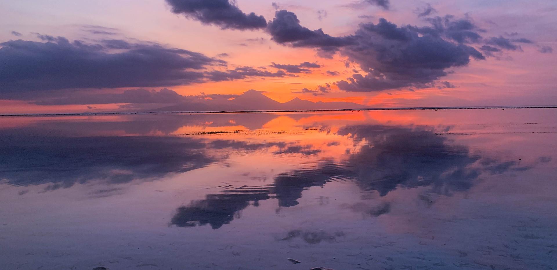 Dreamy Gili Sunset