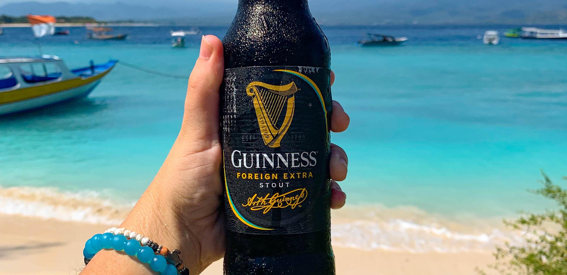 Bottled Guinness