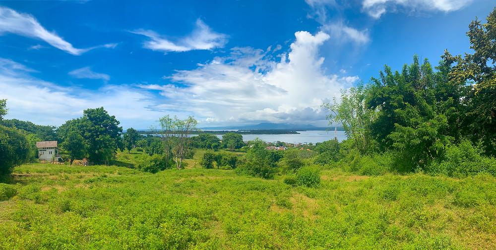 Climb the Gili Trawangan hill for breathtaking views of Gili Meno, Gili Air, and Lombok.