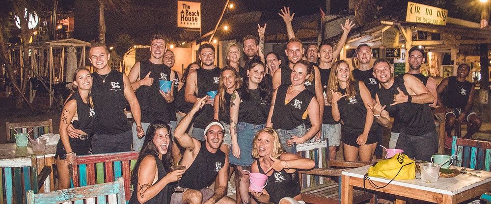 Party people from around the world find their way to The Irish while on the island. It's the place to be on Gili T!