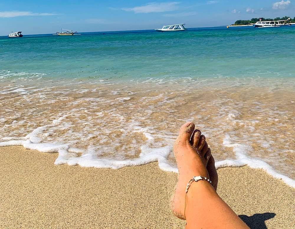 Walk from the beach, to the restaurant, to the bar with ease on an island where going barefoot is totally acceptable.