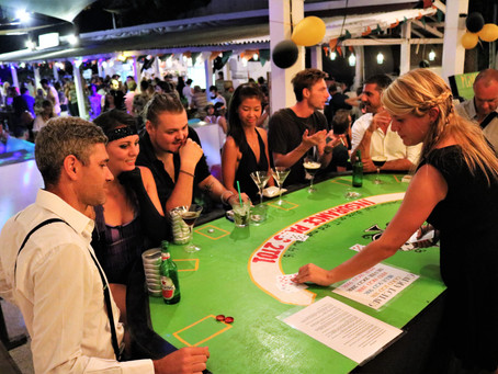 An Irish Bar, a Casino and an Unforgettable Charity Night