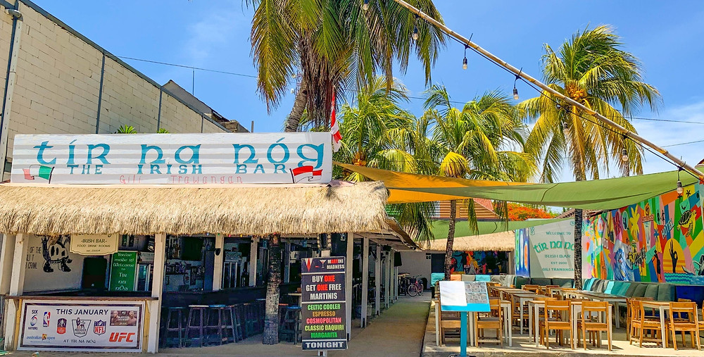 A colourful Irish Bar located in tropical paradise