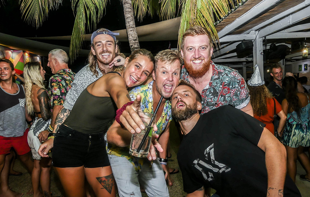 If partying were a profession, we'd have some experts here on Gili T.