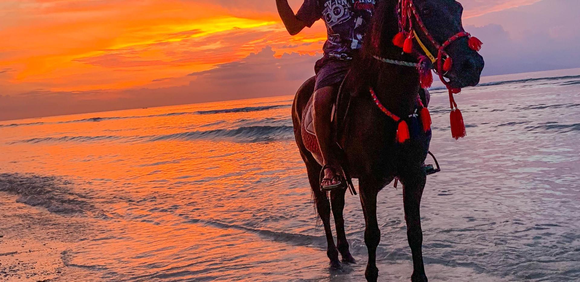 Sunset Horseback Ride