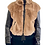 Thumbnail: Short Fur With Leather Details