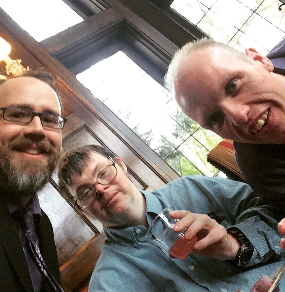 Stephen, Mark and Brett