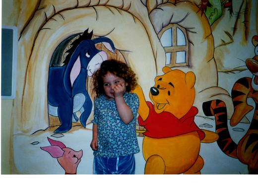 Create a fantasy world with Winnie the Pooh, Batman or any character!