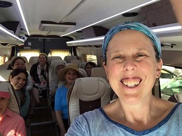 Shulie Mishkin Israel tour bus