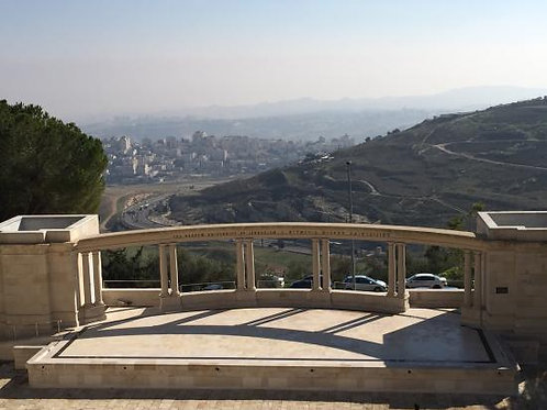 May 10 Mount Scopus  LIVE TOUR!