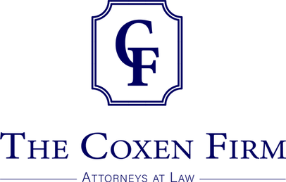 The Coxen Firm Logo_Blue_PNG No white ba