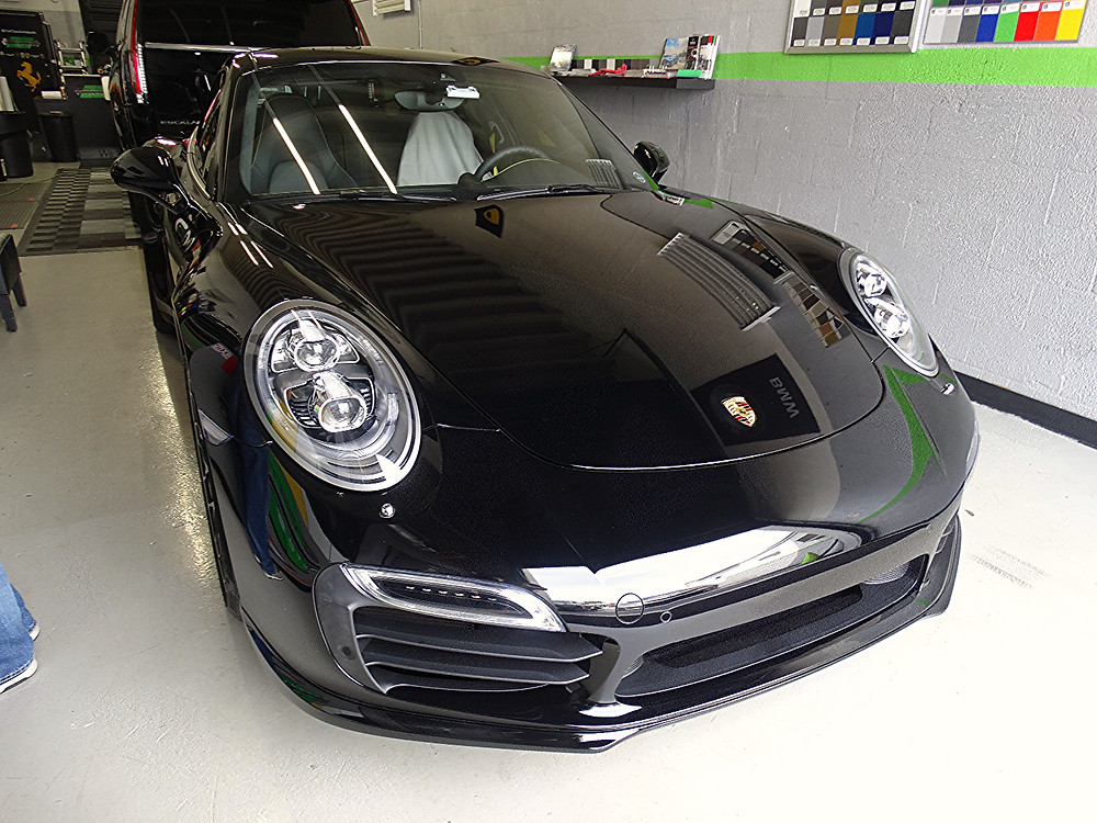 Porsche turbo s 2015 xpel paint protection miami