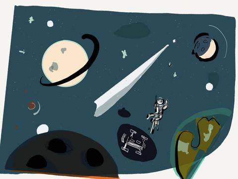 Perdido en el espacio