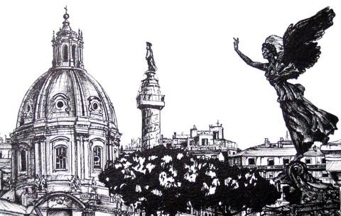 Boceto de Roma