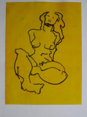Desnudo mujer