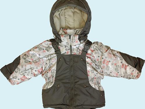 куртка с полукомбинезоном модель 3-4