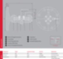 Alco V-series DBB Valve Flange x screw 3