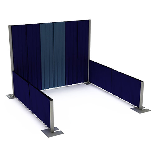 BackWall BOOTH SPACE ($697)
