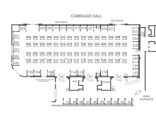 floorplan-Event Expo Carriage Hall EARLE