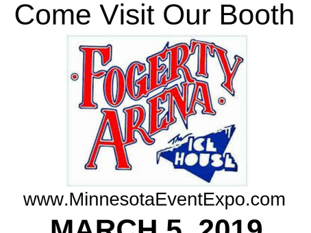 @FogertyArena invites YOU to visit their booth at the EVENT EXPO