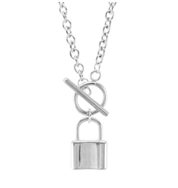 Lock Me Up Fob Necklace