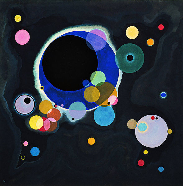 Several Circles, Kandinsky