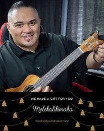 Mele Kalikimaka Song Tutorial!  Merry Christmas from Leolani