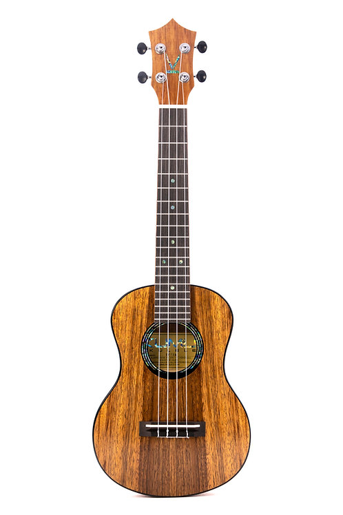 Kumu 4 String Tenor Feather Hawaiian Koa TUX Finish Ukulele