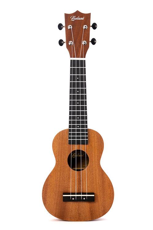 Leolani 4 String Soprano Mahogany Ukulele