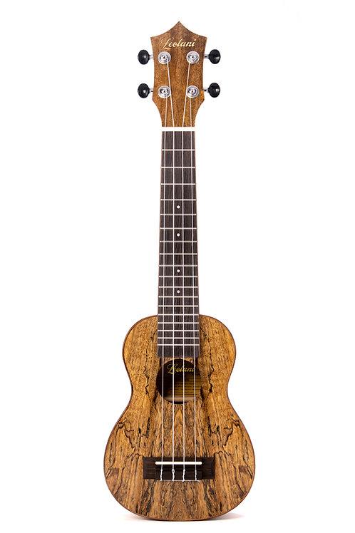 Leolani 4 String Super Soprano Mango Ukulele TUX Finish Ukulele
