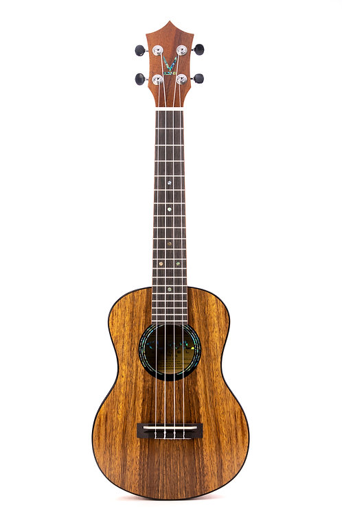 Kumu 4 String Tenor Hawaiian Koa TUX Finish Ukulele