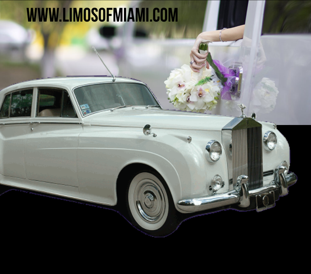 Wedding Limo Antique car Vintage car