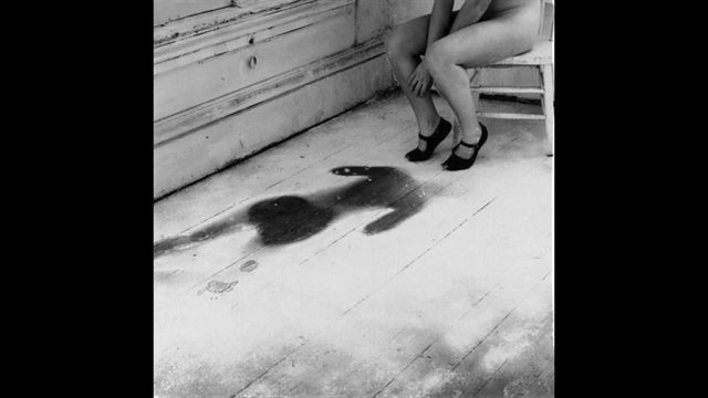 """""""telephone scatalogia."""" Inspired by Francesca Woodman, """"House #3,"""" 1976."""